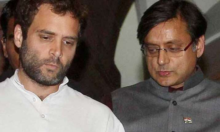 shashi tharoor says would have been good if rahul attended