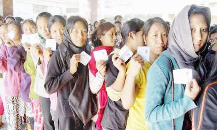 88 per cent voting in nagaland by poll
