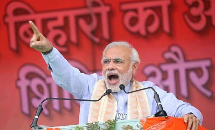 bihar polls pm modi to address 4 election rallies today