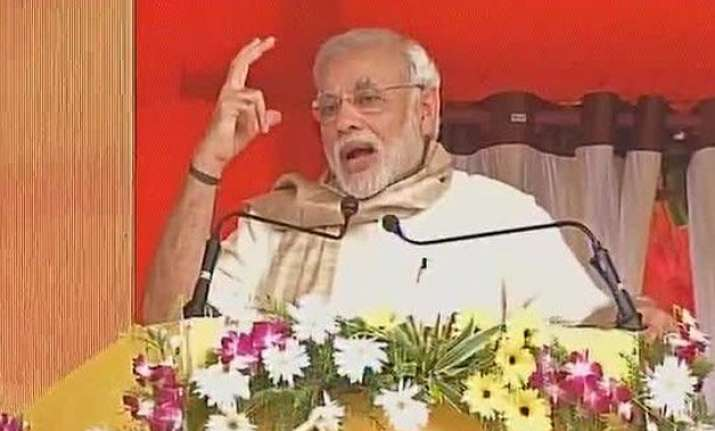 pm modi promises more than rs 50 000 cr package for poll