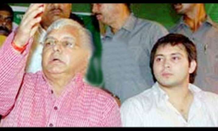 lalu paswan using assembly elections to launch their sons