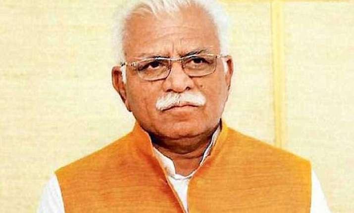 beef muslim row ncp seeks president s intervention khattar