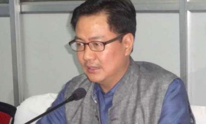 22.7 pc border with bangladesh unfenced kiren rijiju