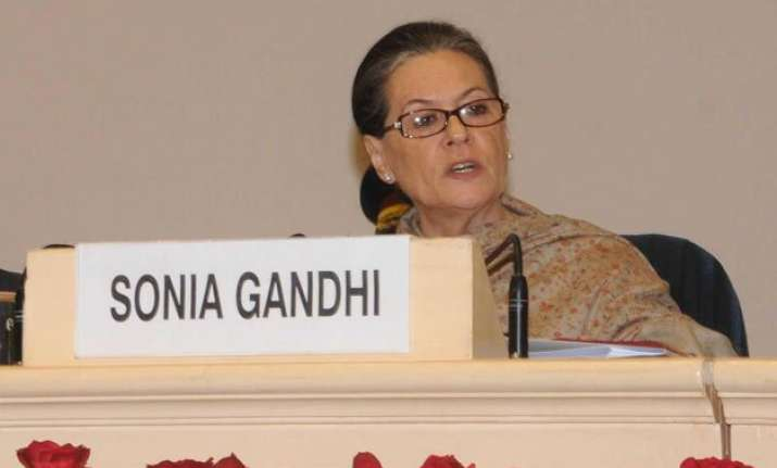 sonia gandhi achieved double win in 2004 says biography