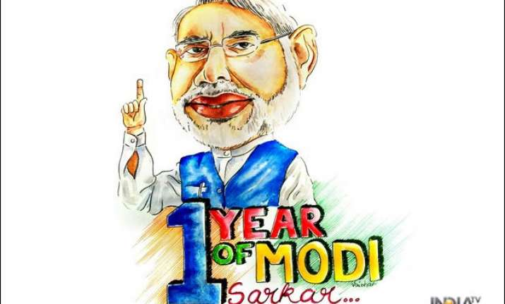 status report flagship schemes of modi sarkar