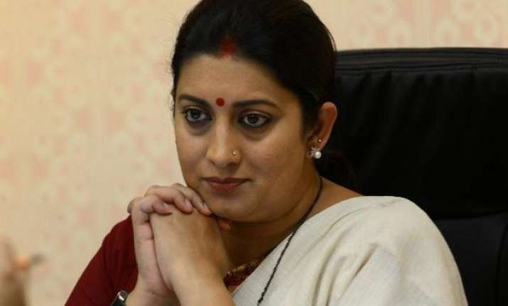 mba pass out refuses to take degree from smriti irani