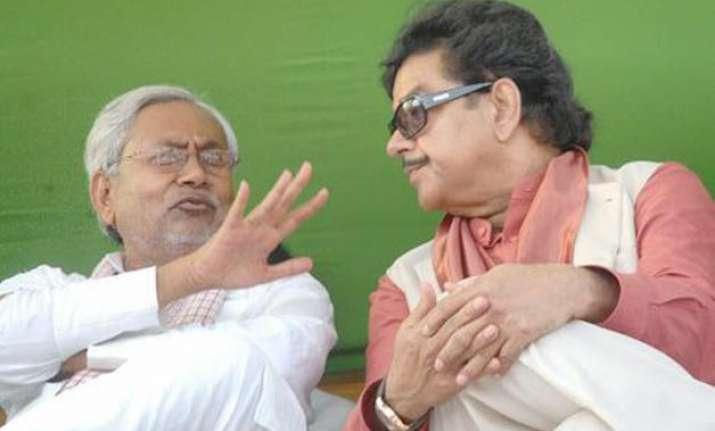 shatrughan sinha meets nitish kumar says he is guardian of
