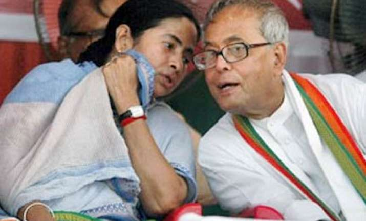pranab could head wb govt if alliance comes to power mamata