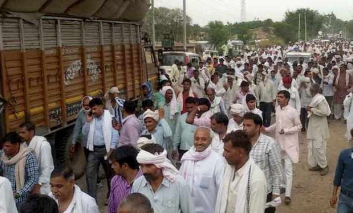 gujjar leaders soften stand on reservation agree to hold