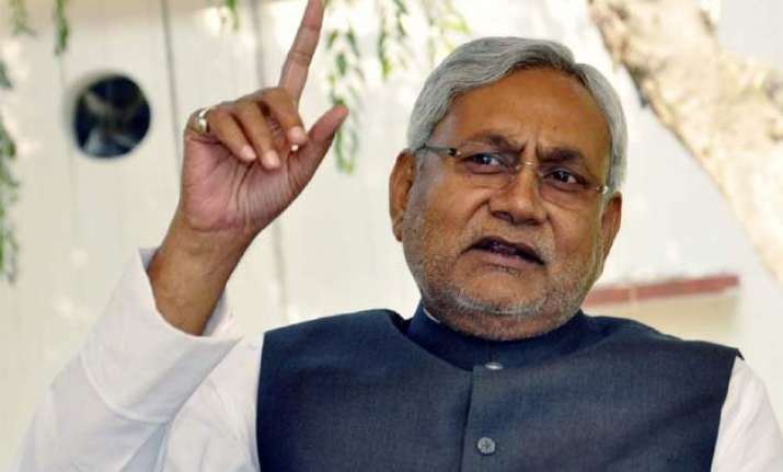 nitish kumar says council poll no reflection of people s