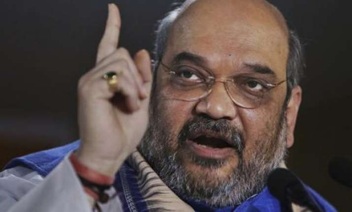 amit shah set to be re elected as bjp president today