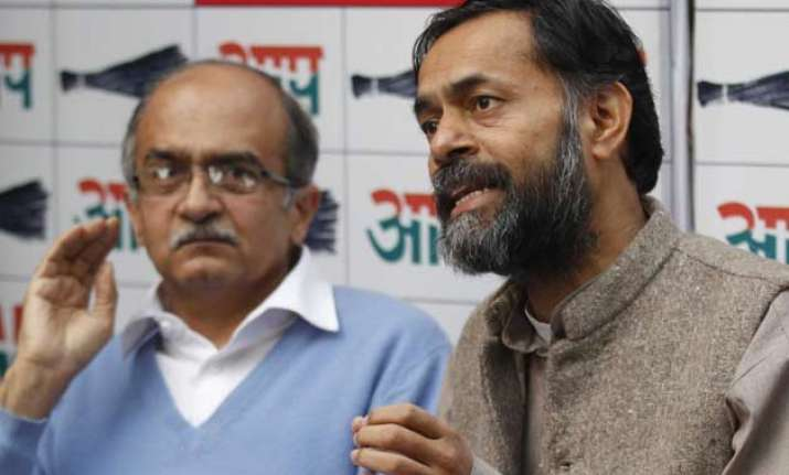 aap to consider bringing party under rti appointing lokpal