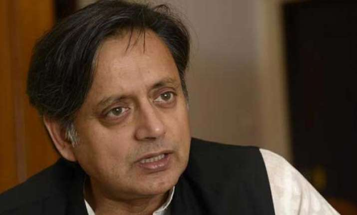 left bjp ask shashi tharoor to resign