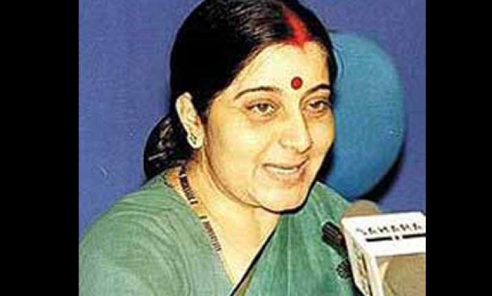 congress has betrayed common man alleges sushma