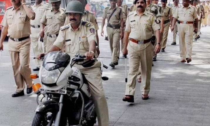over 2 lakh policemen deployed in maharashtra for polls