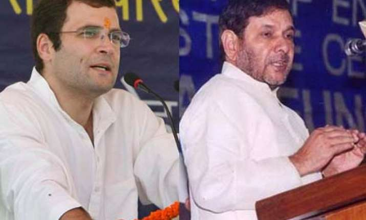 rahul in ganges you are scared of him cong to sharad