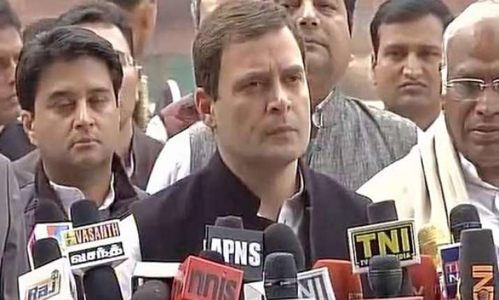 rss trying to impose its flawed ideology rahul gandhi