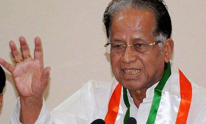 tarun gogoi slams pm modi for excluding assam from land