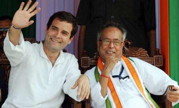 pranab hints at retirement rahul gandhi as pm