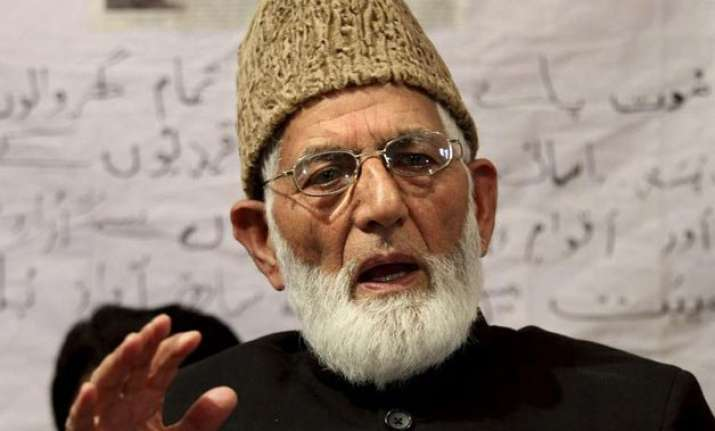 govt to consider geelani s plea after he completes