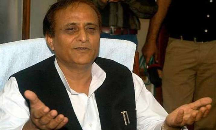 only samajwadi parivar can bring peace to nation azam khan