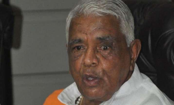 congress demands mp minister babulal gaur s apology over