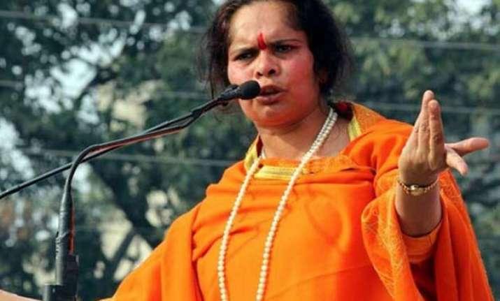 firebrand hindutva leader sadhvi prachi arrested