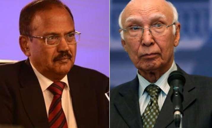 nsa level talks on despite pak invite to kashmiri