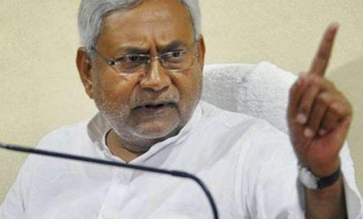 modi govt listens and acts only on twitter nitish kumar