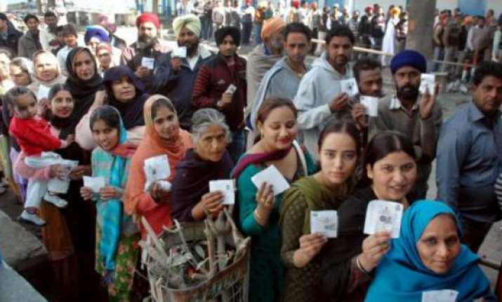 voting begins for haryana assembly polls