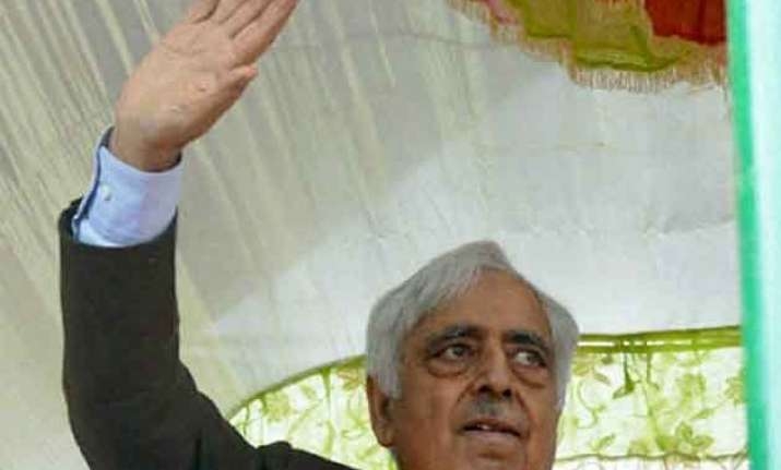 pdp bjp govt in jammu kashmir soon mufti likely to be new cm