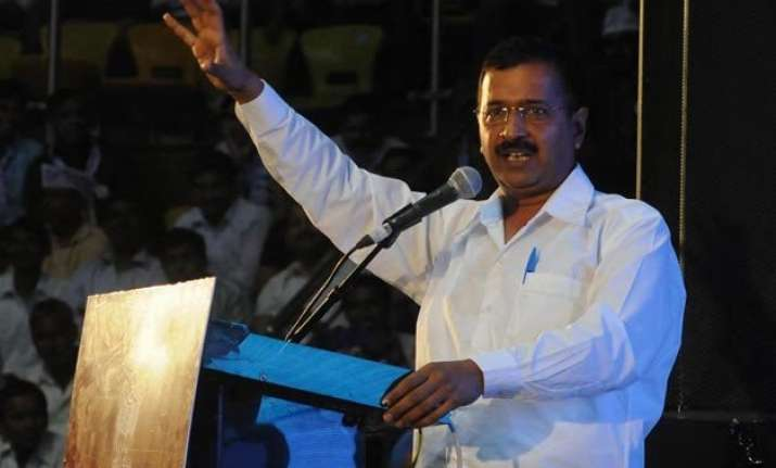 kejriwal claims aap has gone bankrupt seeks donation from
