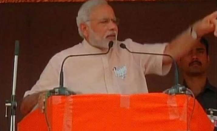 maharashtra polls get the guns off your shoulders narendra