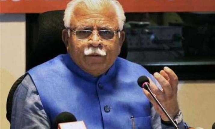 haryana cm ml khattar announces scholarships sanskrit