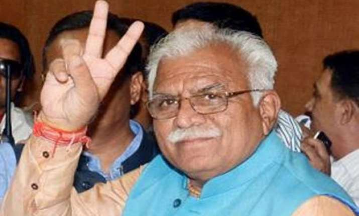 manohar lal khattar expands cabinet three new ministers