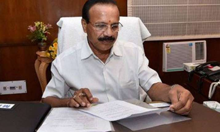 vyapam scam a silly issue law minister sadananda gowda