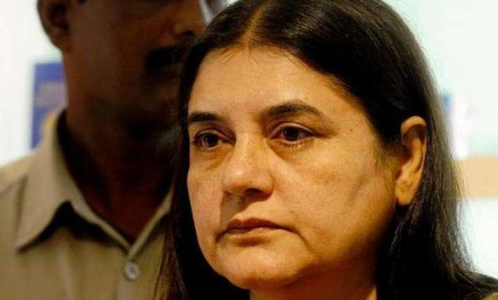 union minister maneka gandhi blames environment degradation