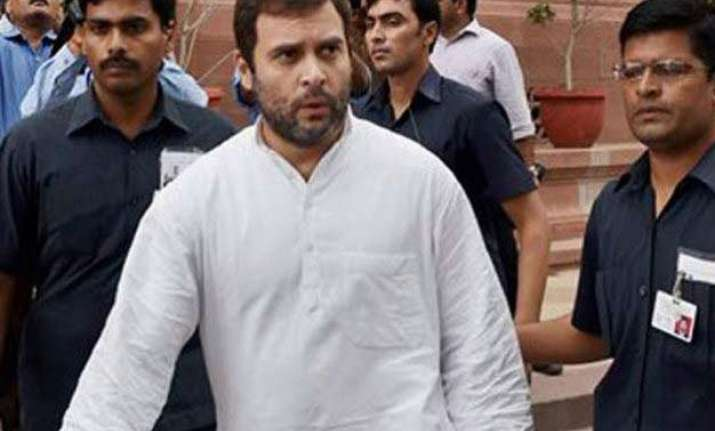 rahul writes to rajnath over scrapped food park project