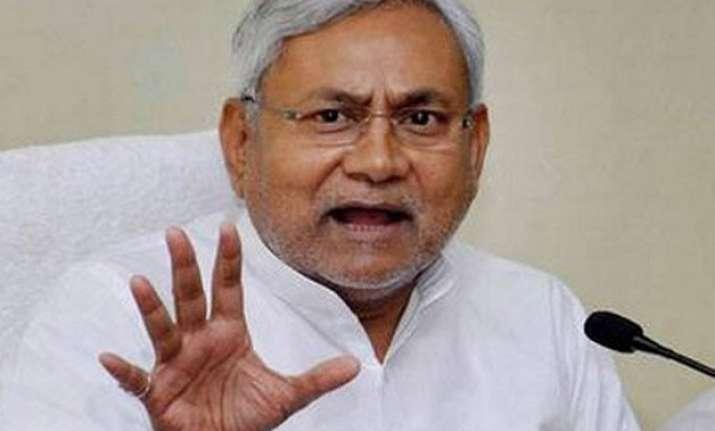 bihar polls nitish kumar accuses pm modi of brazen attempt