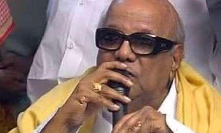 caste census a historic development says karunanidhi
