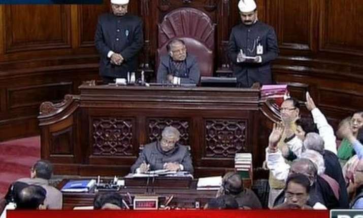 dmk aiadmk spar in rajya sabha over death of infants in tn