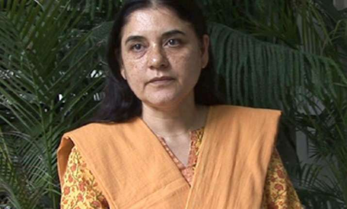 something is wrong with the bjp says maneka