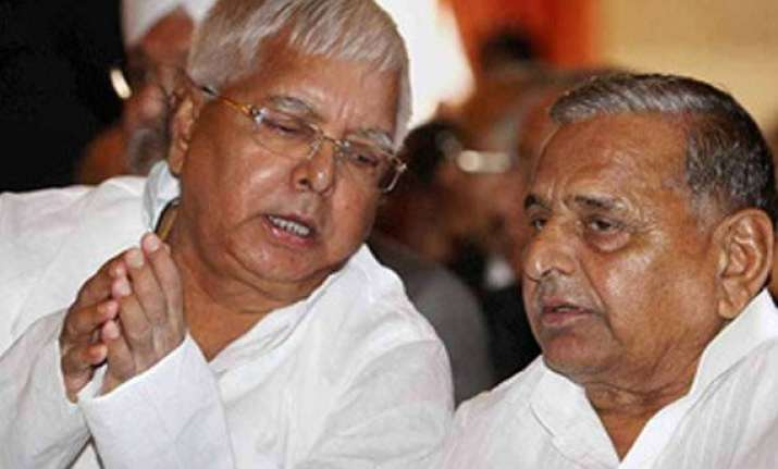mulayam lalu to enter into new alliance through matrimony