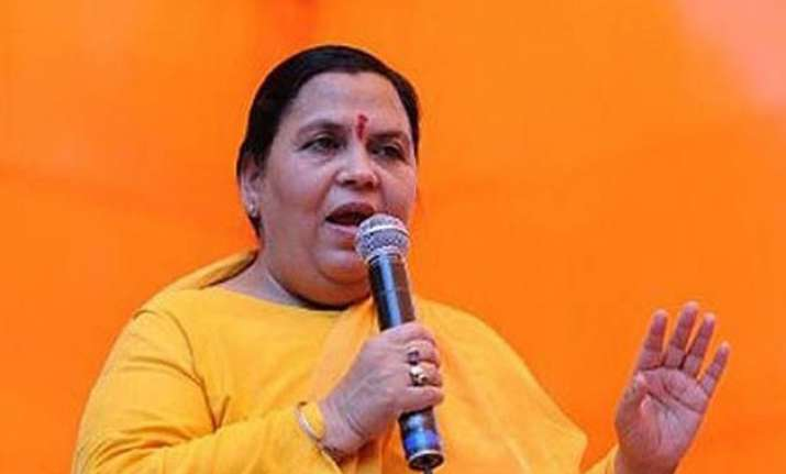 1 600 villages along ganga to be made filth free says uma
