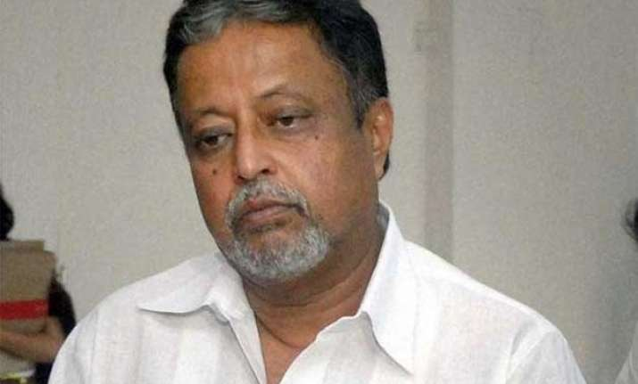 mukul roy in city to go to delhi again