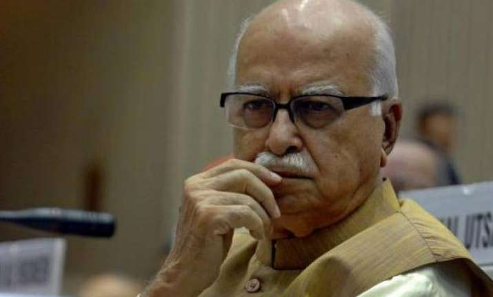 Image result for LK Advani Message In Blog that will shock you, Read full text inside