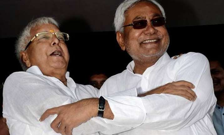 bihar polls jd u rjd tussle over nitish s cm candidature