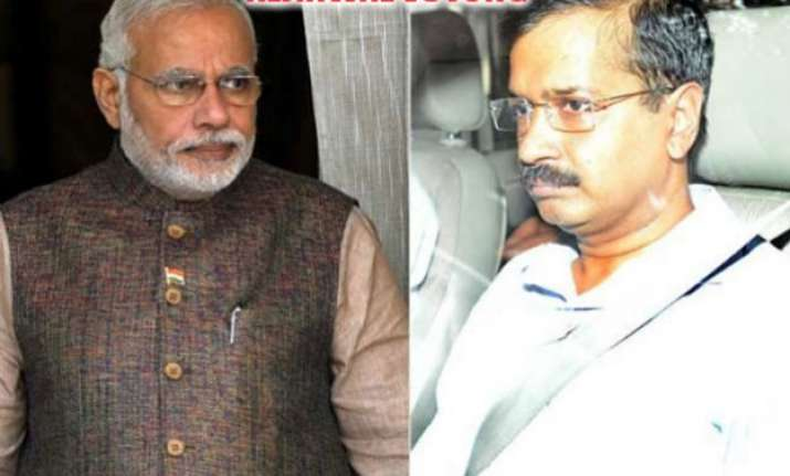 kejriwal writes to modi says centre trying to rule delhi
