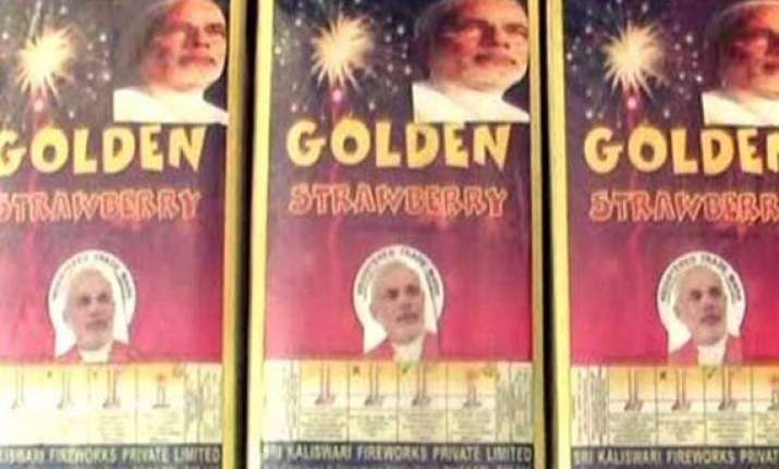 modi rocket chakri and bombs firecrackers named after pm