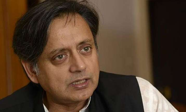 returning awards amounts to dishonouring recognition tharoor